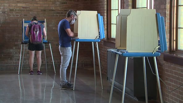 Wisconsinites take part in Tuesday's primaries; virus precautions in place for voters, poll workers
