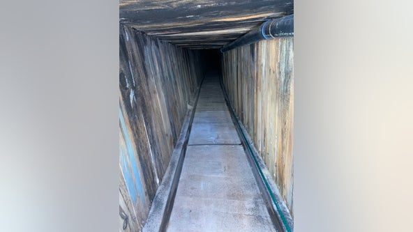 US: Border tunnel found appears to be 'most sophisticated'