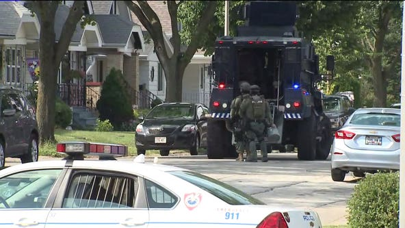 Heavy law enforcement presence seen near 74th and Grant in West Allis