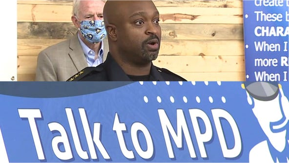 'What do they want?' Acting MPD chief outlines 1st initiative, sets up email address for public input