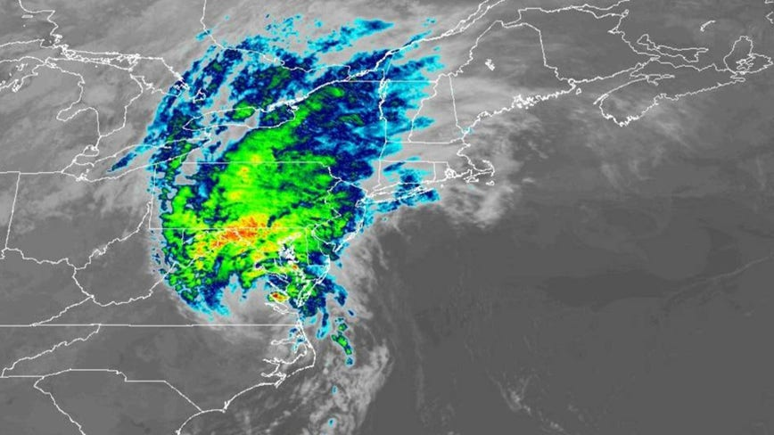Isaias downgraded to tropical storm over eastern North Carolina