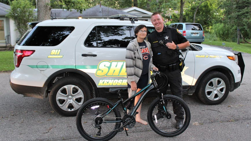 Residents pitch in to buy bike for 13-year-old girl who had hers stolen