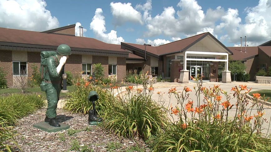 Union Grove veterans home makes changes after 12 vets, 11 staff test positive for virus