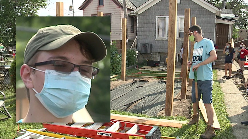 'Help out the community:' Eagle Scout hopeful brings service to Courage House for final project