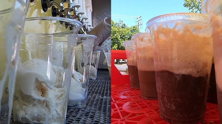 Sprecher, Cedar Crest Ice Cream partner for root beer float giveaway, attempt to break world record