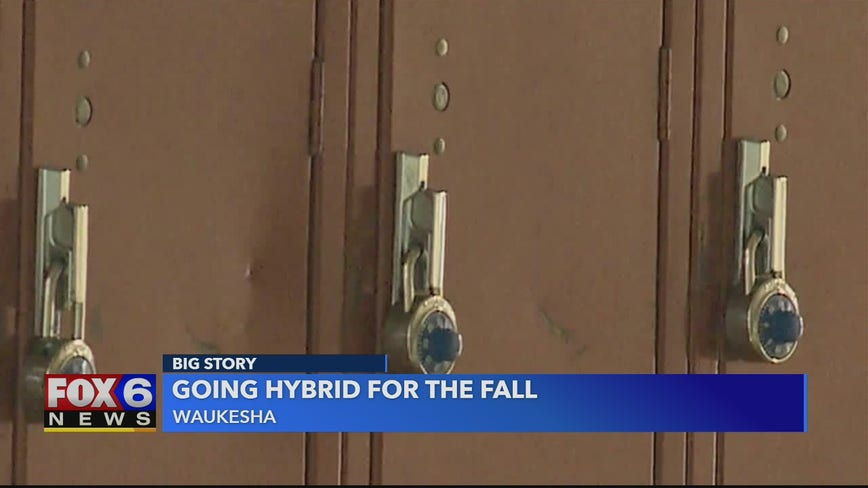 After Waukesha Co. hit record for new COVID-19 cases, district votes to start school year using 'hybrid model'