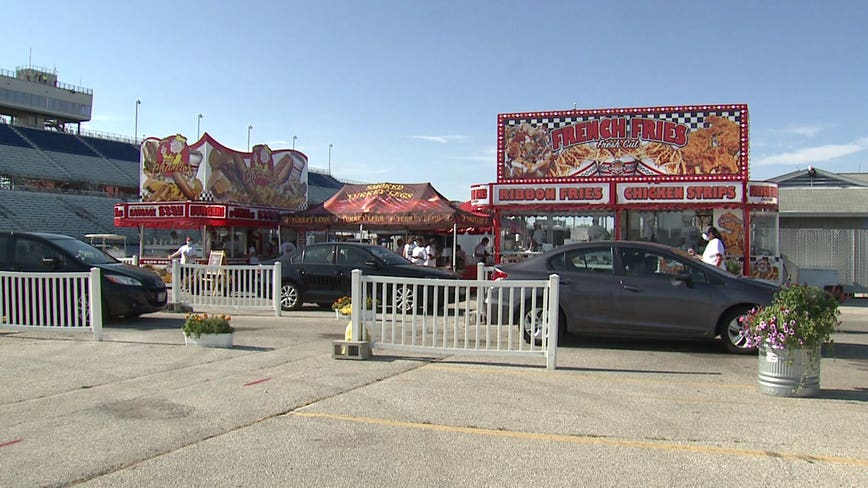 'It's amazing:' Final weekend of Wisconsin State Fair Food Drive-Thru underway