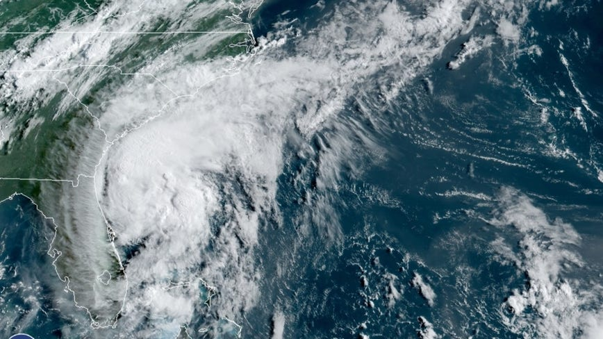 Isaias near hurricane strength as it crawls toward Carolinas