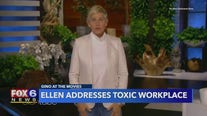 Ellen DeGeneres returns to talk show after months of controversy
