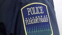 Pleasant Prairie police car hit, officer taken to hospital