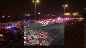 Breonna Taylor: Protesters block I-94 at 25th Street in Milwaukee