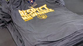 Milwaukee Brewers offer postseason gear for fans at Miller Park