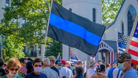 Ohio high school football players suspended after carrying Blue Lives Matter, Thin Red Line flags before game