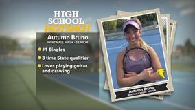 Whitnall senior shines on tennis court: 'Keeps me very grounded'