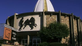 Pro Football Hall of Fame's Centennial Plaza celebrates NFL's 100 years