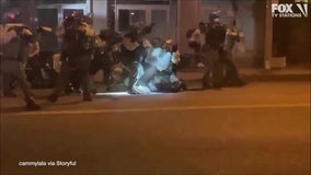 Video shows deputy striking man with riot shield during Breonna Taylor protest in West Hollywood