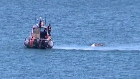 4 rescued after sailboat capsized near Shorewood's Atwater Park