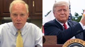 Ron Johnson, exposed to COVID, cancels appearance with Trump