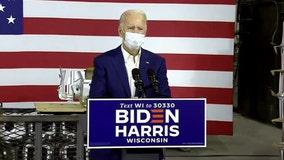 Joe Biden campaigns in Manitowoc, promises to buy American