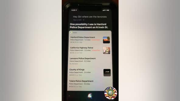 Apple apologizes for Siri glitch that ID's police departments as 'terrorists'