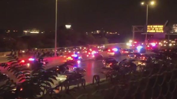 Protesters block interstate in Milwaukee