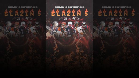 Colin Cowherd's Blazin' 5 - Week 3