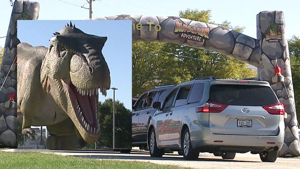 Dinosaur Adventure opens at Waukesha County Expo Center