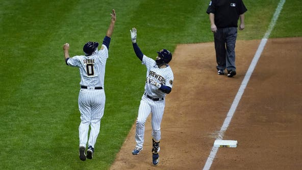 Burnes, Braun lift Brewers to 5-0 win over Royals