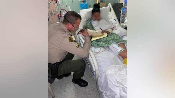 Trump calls California deputies injured in ambush shooting