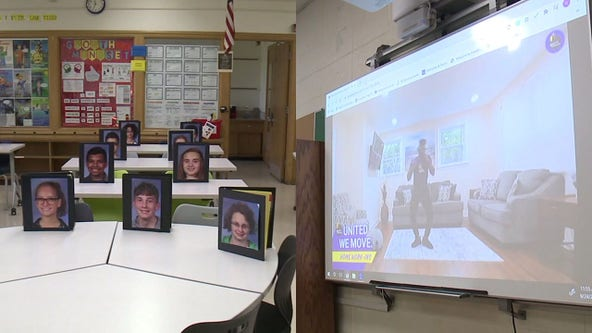 Teachers get creative for virtual learning at Racine school