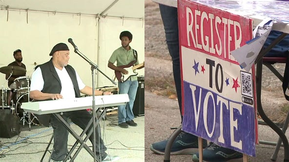 Kenosha block party promotes voter registration, community healing