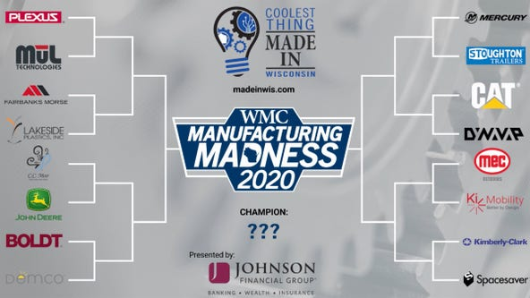 Top 16 announced in Coolest Thing Made in Wisconsin contest