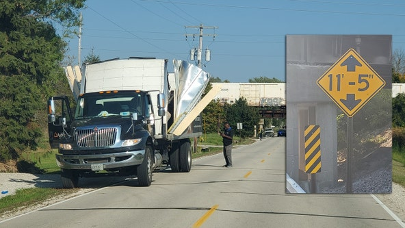 'Do the math:' Caledonia police jab at truckers about low bridge