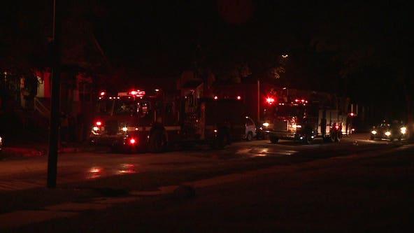 Police investigate fatal car fire near 10th and Hadley; 1 dead