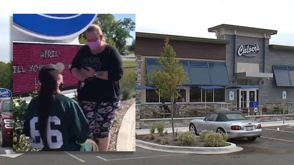 Burgers and Bling: Kenosha couple gets engaged at Culver's