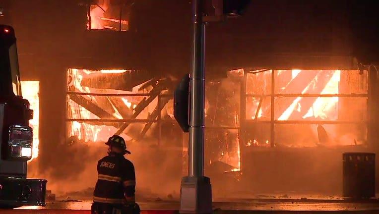 Kenosha's Danish Brotherhood Lodge destroyed by fire amid unrest