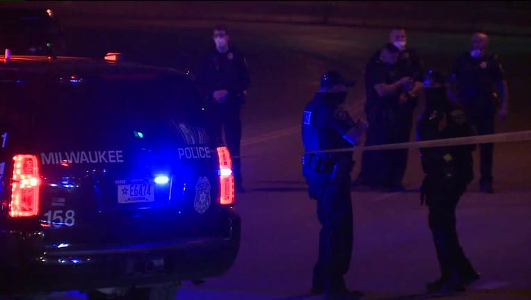 Fatal shooting near Brady and Van Buren