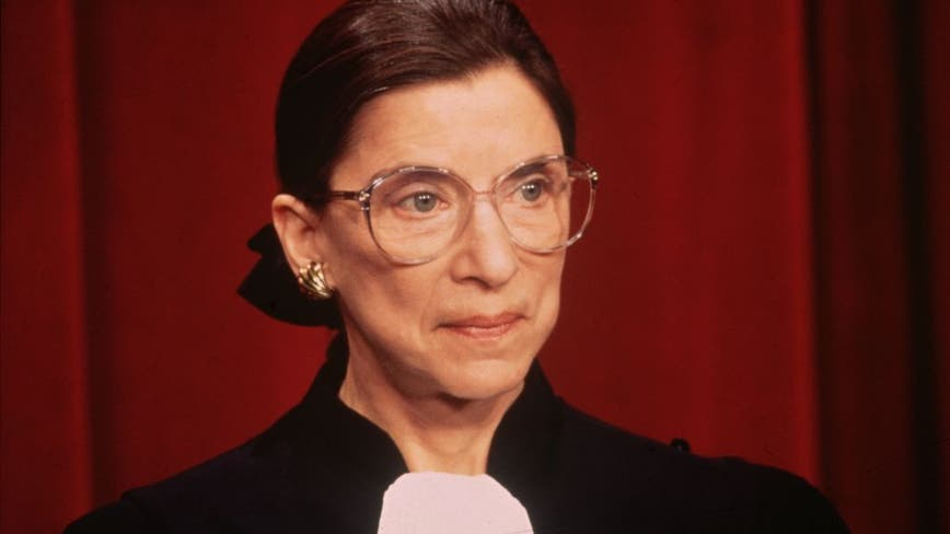 Ginsburg, a feminist icon memorialized as the Notorious RBG