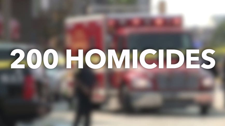 Milwaukee County could hit record 200+ homicides in 2020