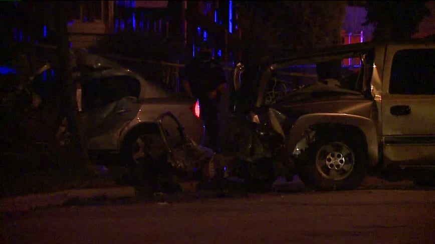 Driver dies after losing control of car, crashing into parked vehicle