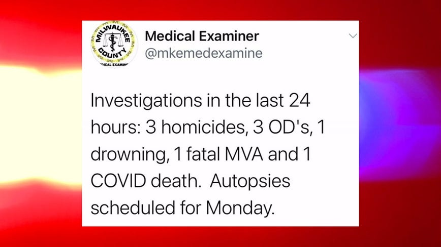 Medical examiner investigates at least 9 weekend deaths