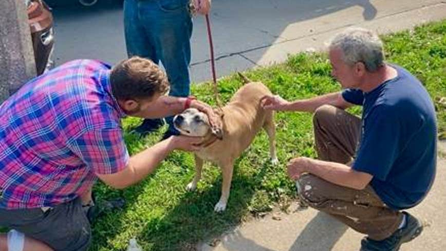 Wauwatosa man awarded by PETA after saving dog from house fire