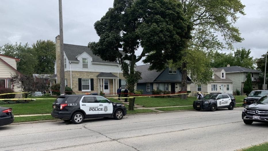Scene of homicide near 68th and Silver Spring