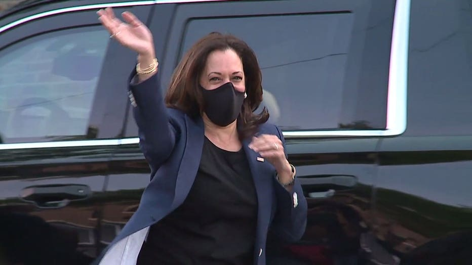 Kamala Harris visits Milwaukee