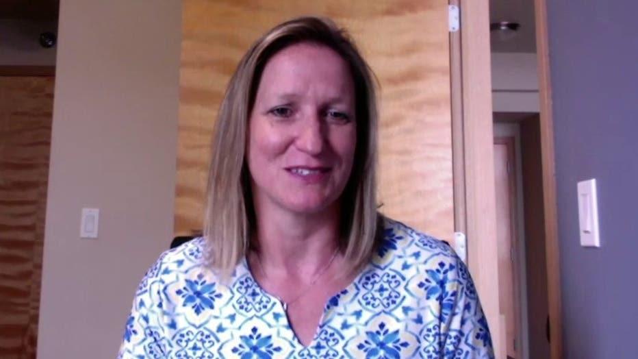 UWM Athletic Director Amanda Braun