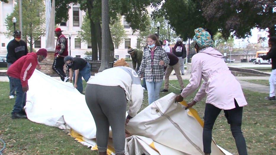24-hour protest for Jacob Blake
