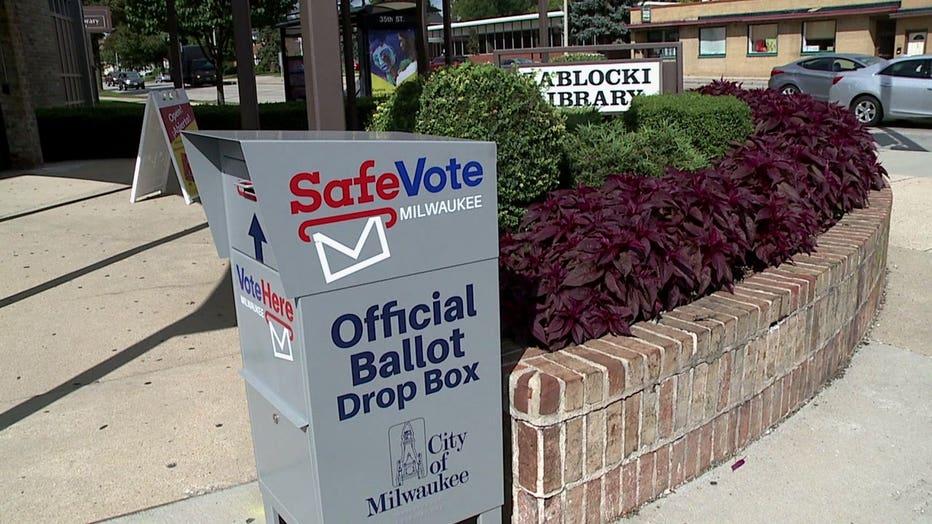 Absentee ballot dropbox
