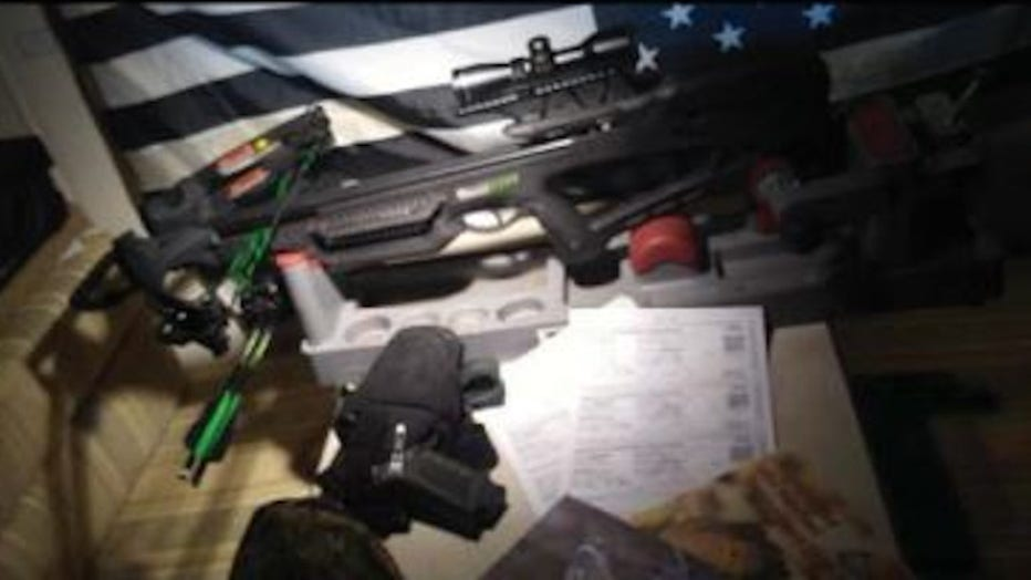 Missouri men face firearms charges linked to Kenosha unrest: Prosecutors shared these images from Michael Karmo's social media