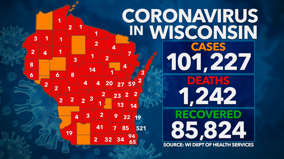Coronavirus in Wisconsin: Sunday, Sept. 20
