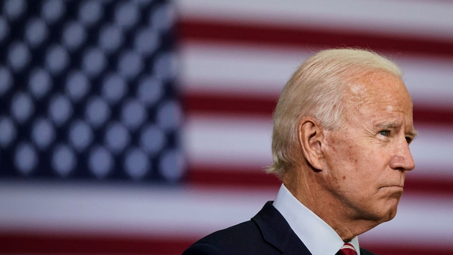 Democratic Candidate For President Joe Biden Speaks With Veterans In Florida